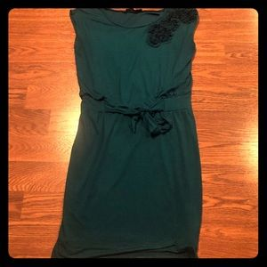 Beautiful Teal Very Comfy The Limited Cotton Dress